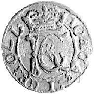 szeląg 1652, Wilno, odmiana bez herbu Gozdawa, Kurp. 73...
