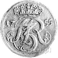 trojak 1755, Gdańsk, Kam. 935 R2, Merseb. 1803.
