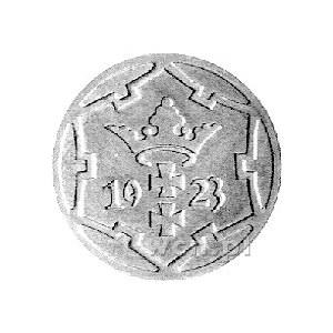 5 fenigów 1923, Berlin, Rudolf Schaaf s. 390, mosiądz 1...
