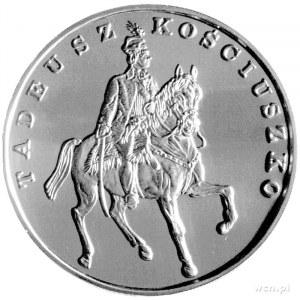 200.000 złotych 1990, USA, Tadeusz Kościuszko, srebro.