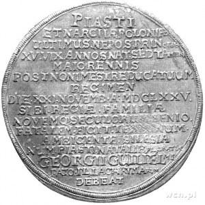 1 1/4 talara 1675, Brzeg, F.u. S. -, Dav. 488, efektown...
