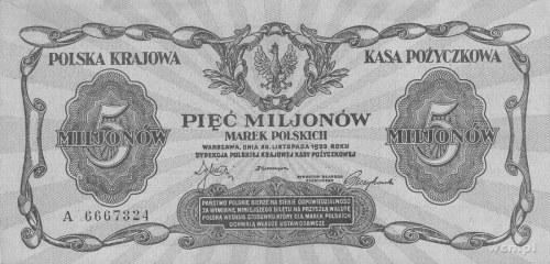5.000.000 marek polskich 20.11.1923, seria A, Pick 38