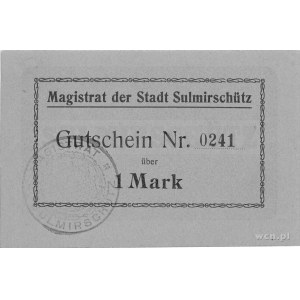 Sulmierzyce (Sulmirschütz)- 1 i 5 marek b.r. (1914), Ke...