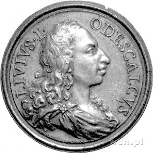 medal Liwiusza Odescaldiego- kandydata do korony polski...