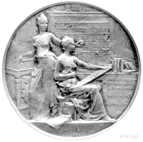 medal wybity z okazji 50-lecia Belgijskiego Towarzystwa...