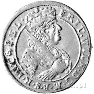 ort 1684, Królewiec, Schr. 1680, ładny egzemplarz.