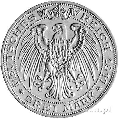3 marki 1911, Berlin, 100 - lecie Uniwersytetu we Wrocł...