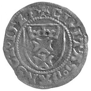 szeląg 1525, Gdańsk, Kurp. 399 R3, Gum. 545, rzadki
