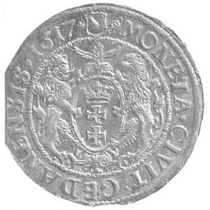 ort 1617, Gdańsk, odmiana dwukropek i krzyżyk na końcu ...