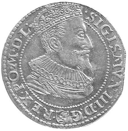 szóstak 1596 Malbork, podobny Kurp. 1430 ale odmiana z ...