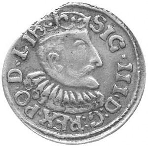 fałszerstwo z epoki trojaka ryskiego 1595 wykonane w sr...
