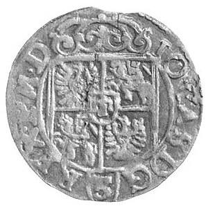 półtorak 1662, Poznań, odmiana bez obwódki na rewersie,...