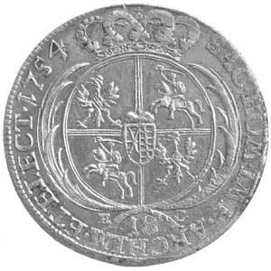ort 1754, Lipsk, Kam. 794, Merseb. 1779, ładne lustro