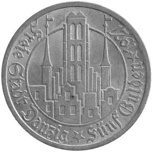 5 guldenów 1927, Berlin, Parchimowicz 65.b, Kościół Mar...