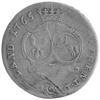 trojak 1765, Mitawa, Kam. 382 R2, Kruggel 6.6.1.7