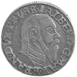 trojak 1558, Królewiec, Neumann 44, Bahr. 1218