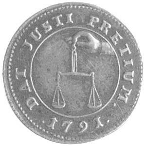 odważnik dukata 1791, Warszawa, Plage 481