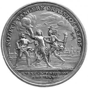medal autorstwa I. L Oexleina wybity z okazji porwania ...