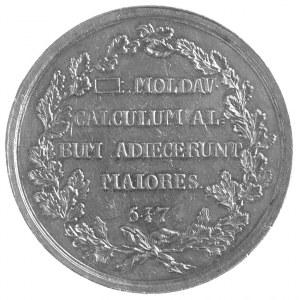 medal pamiątkowy mołdawskiej loży masońskiej założonej ...