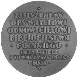 Franciszek Prus-Biesiadecki- medal autorstwa P. Wojtowi...