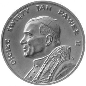 papież Jan Paweł II- I Pielgrzymka do Polski- medal aut...