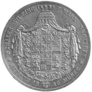 Fryderyk Wilhelm III 1797- 1840, dwutalar 1840, Berlin,...