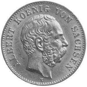 Albert 1873- 1902, 20 marek 1894, Müldenhütten, Aw: Gło...
