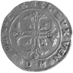 Wenecja, Giovanni Corner 1625-1629, scudo, Aw: Tarcza h...