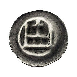 brakteat; Korona z lilią pośrodku, Waschinski 137.a