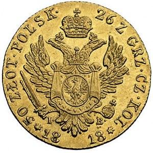50 złotych 1818, Warszawa, Plage 2, Fr. 105, złoto, 9.7...