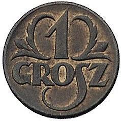 1 grosz 1923, Warszawa, Parchimowicz 101.a