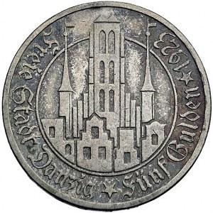 5 guldenów 1923, Utrecht, Kościół Marii Panny Parchimow...