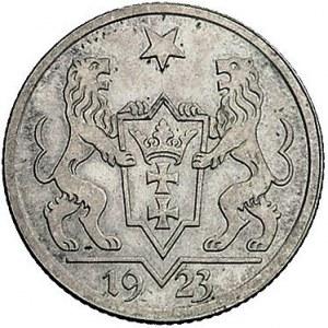 1 gulden 1923, Utrecht, Koga, Parchimowicz 61, bardzo ł...