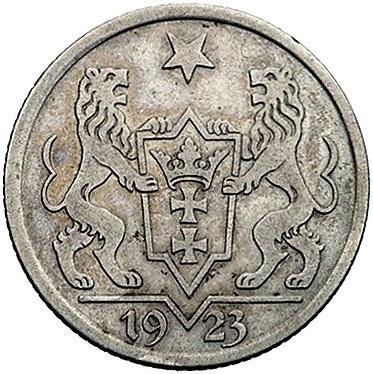1 gulden 1923, Utrecht, Koga, Parchimowicz 61