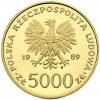 komplet monet 10.000, 5.000, 2.000 i 1.000 złotych 1989...