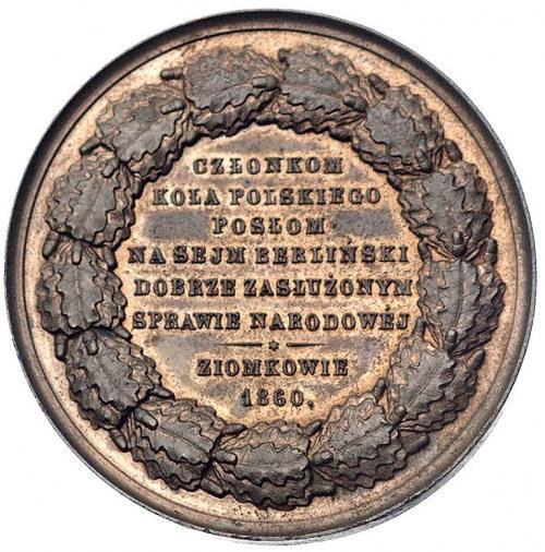 Tadeusz Reytan- medal autorstwa Belowa poświęcony posło...