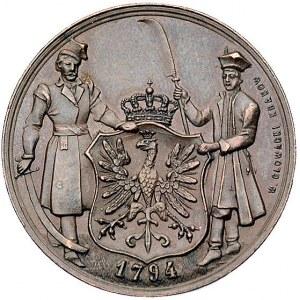 Tadeusz Kościuszko -medal autorstwa Wojciecha Głowackie...