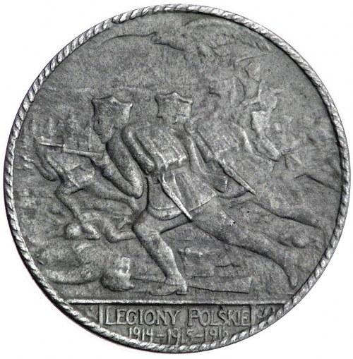 Legiony Polskie-medal autorstwa Jana Wysockiego 1916 r....