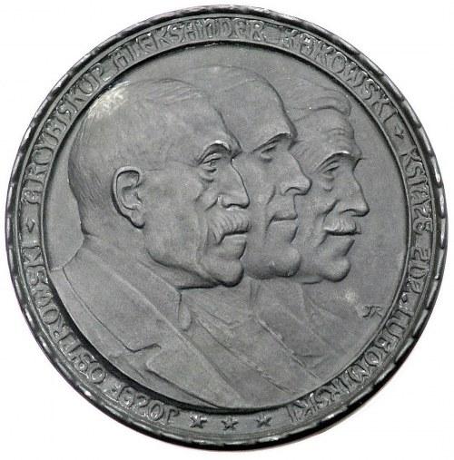 intromisja Rady Regencyjnej w Warszawie- medal autorstw...