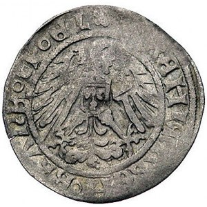 grosz z omyłkową datą 15517 (1517), Berlin, Bahr. -, rz...