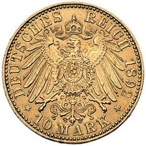 10 marek 1892/A, Berlin, J. 251, Fr. 3835, złoto, 3.97 ...