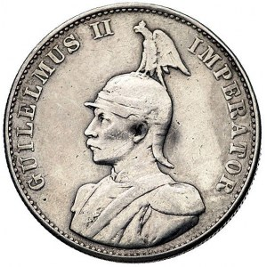 Kolonia niemiecka w Afryce Wschodniej, 2 rupie 1893, Be...