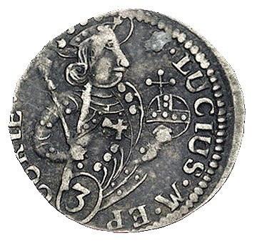 zestaw monet 3 krajcary 1606 Zug i 1734, Chur -miasto, ...