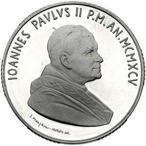 Jan Paweł II 1978 - , 10.000 lirów 1995, Rzym, Y. 260