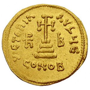 Herakliusz 610-641 i Herakliusz Konstantyn 613-641, sol...