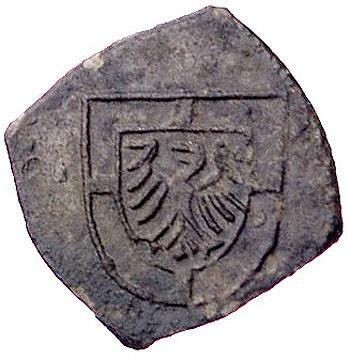 Albrecht von Hohenzollern 1511-1525, klipa grosza (1521...