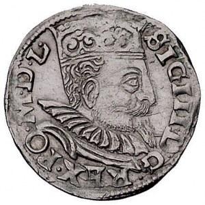 trojak 1599, Wschowa, Kurp. XLV 11, Kurp. 1151 (R1)