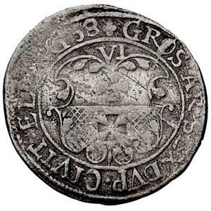 szóstak 1658, Elbląg, okupacja szwedzka, Ahlström 60 (R...