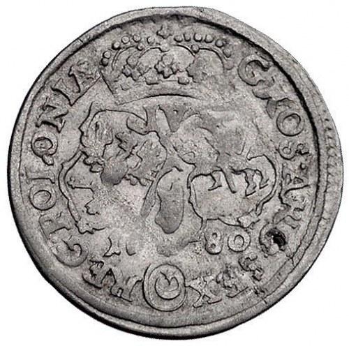 szóstak 1680, Bydgoszcz, nieopisana w katalogu Kurpiews...