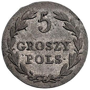 5 groszy 1827, Warszawa, Plage 125